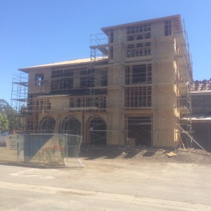 3 story front tower complete