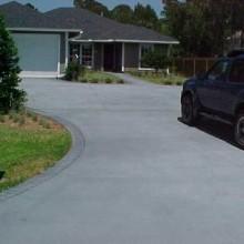 Concrete driveway pic 2