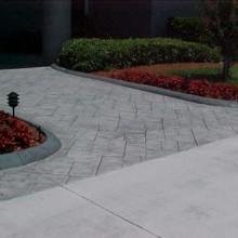 Concrete walkway pic 2