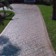 Concrete walkway pic