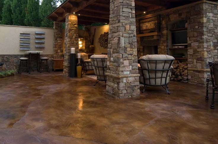 Stained & Imprinted Concrete Solutions