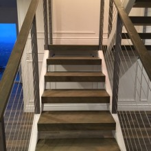 Demelo staircase after